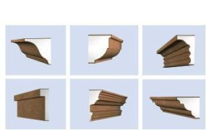 Exterior Carved Decorative Crown Moulding, EPS Cornice Crown Moulding pictures & photos