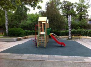 Rubber Floor Tile, Playground Rubber Tiles, Interlocking Rubber Tiles pictures & photos