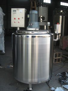 Ss30408 Single Layer Mixing Tank with Electric Heated pictures & photos