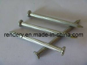 Galvanized Twisted Shank Checkered Head Concrete Steel Nails pictures & photos