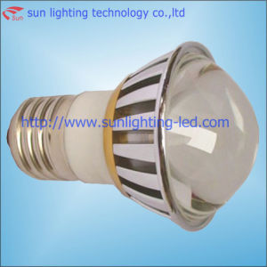 3W LED Ball Bulb with Pyrex Glass