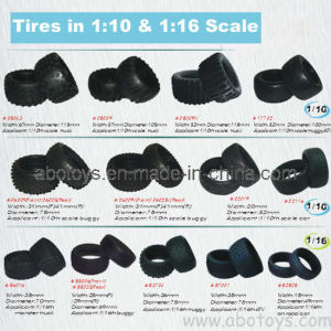 Tires for Model Cars (WT-08043/08009)