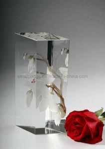 Crystal Colored Flower Vase