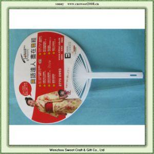 Round Shape Gift Fan Plastic Fan (S5P01) pictures & photos