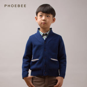 Phoebee Wholesale Kids Knitwear Little Boys Clothes Sale pictures & photos