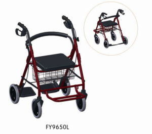 Aluminum Rollator with Seat and Wheels pictures & photos