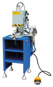 UPVC Window Making Machine/Single-Head Reinforcement Screwer pictures & photos