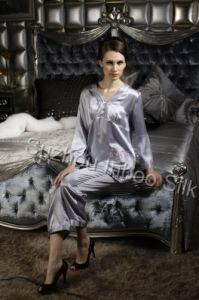 Silk Nightwear Suit
