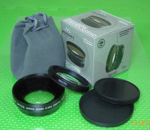 62mm 0.45x Wide Conversion Lens with Anti-reflection Coating