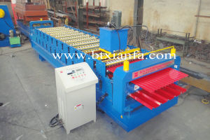 Double Layer Corrugated and Irb Roll Forming Machine