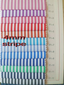 4 mm Stripes Twill Yarn Dyed Shirt Fabric pictures & photos