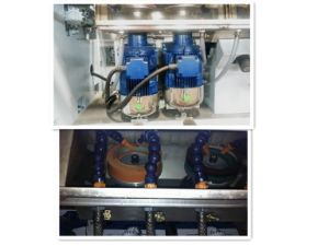 9 Motors Automatic Glass Straight Line Polishing / Polisher Machine pictures & photos