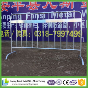 2.1m*1.1m Hot Dipped Galvanized Mobile Pedestrian Barrier for Construct pictures & photos