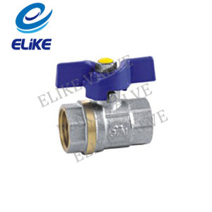 1/2-2′ Brass Ball Valve with Butterfly Handle for Ukraine Market