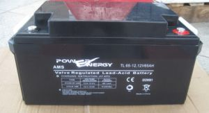 Tl12-65 12V65ah Valve Regulated Lead Acid Maintenance Free UPS Battery pictures & photos