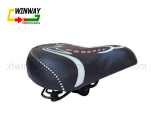 Bicycle Parts Soft Wide Large Cushion Saddle for 26 pictures & photos