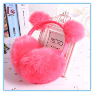 Luxury Ear Cover Winter Cozy Plush Ear Protection Faux Fur Ear Muffs for Girl and Lady pictures & photos