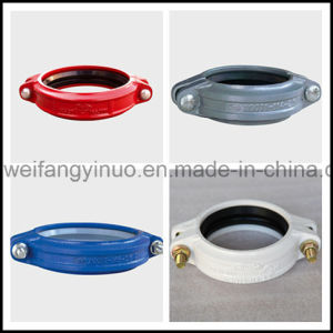 Ductile Iron 300psi/2.07MPa Fire Fighting FM/UL Grooved Rigid/Flexible Coupling Upscale Market pictures & photos