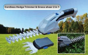 2 in 1 Cordless Automatic Hedge Trimmer & Shear, Electric Hedge Trimmer pictures & photos