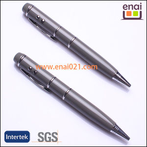 Wedding Promotion Gift Metal USB Ballpoint Pen with Logo (EN901)