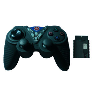 Double Shock Wireless Gamepad for PC/PS2 (PS/PC-890)