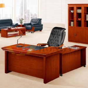 Panel Model Thailand Teak Veneer Popular Selling Office Table Furniture (HY-D8420) pictures & photos