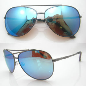 Produce Brand Designer Metal Polarized Sunglasses pictures & photos
