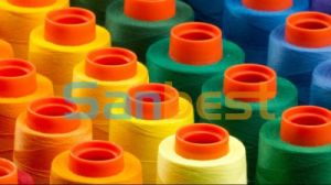 Spun Polyester Sewing Thread Ring Twsited Quality pictures & photos