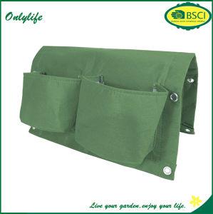Onlylife 2016 Hot Sale Felt Mini Decrocrative Hanging Vertical Wall Planter/Felt Garden Planter Bag pictures & photos