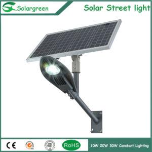 on Sale 10W-30W Outdoor Adjustable Solar Panel Street Garden Light pictures & photos