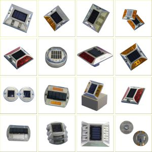 75mm Solar LED Road Stud Side Light with Sunlight Control pictures & photos