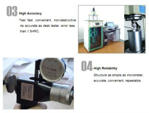 C-Shape Rockwell Hardness Testers/Physical Measuring Meter/Hardness Tester/Rockwell Hardness Tester/ Rockwell Durometer/ Rockwell Sclerometer/Sclerometer pictures & photos