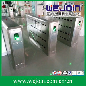 Intelligent Flap Barrier with 304 Stainless Steel Housing and Auto-Reversing Function pictures & photos