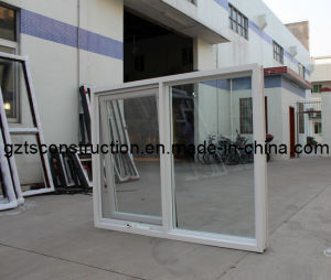 Aluminum Chain Winder Awning Window Double Glazing with Flyscreen pictures & photos