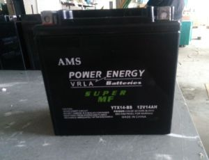 12V14ah Motorcycle Battery pictures & photos