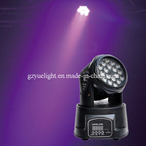 Cheap 1W 18PCS LED Mini Moving Head pictures & photos