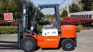 Ce Approved Hecha Forklift3.5 Ton Diesel Forklift on Sale pictures & photos