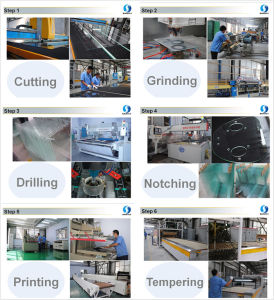 8mm Ceramic Printing Back Painted Tempered Glass pictures & photos