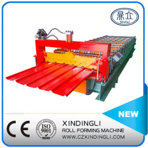 Lowest Price Trapezoidal Roof Sheet Roll Forming Machine pictures & photos