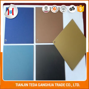 304/201 Color Mirror Hairline Etched Decorative Stainless Steel Sheet pictures & photos