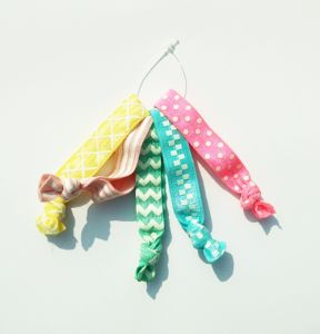 Spring Summer Collection Knotted Hair Ties with Printings pictures & photos