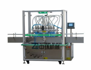 Zhs-8 Automatic Liquid Filling Machine pictures & photos