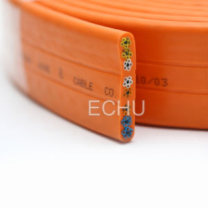 Flat Elevator Control Cable 40g0.75 with Bunch Core pictures & photos