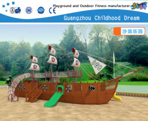 Pirate Ship and Beach Children Toy Outdoor Playground Equipment (H14-0884) pictures & photos