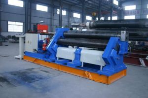 W11f Series Mechanical 3-Roll Asymmetric Rolling Machine (W11F7X1500) pictures & photos