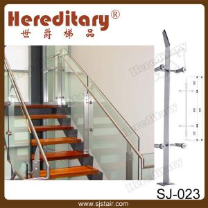 Shopping Mall Stainless Steel Balcony Glass Balustrade Handrail (SJ-H1424) pictures & photos