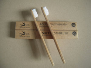 Environmental Toothbrush With Bamboo Handle - 5