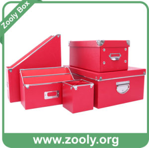 Durable Cardboard Desktop Stationery Paper Storage Box pictures & photos