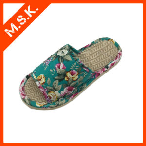 Cool and Comfort Sandal Shoe (Slipper with printed flower MSK-SA801)