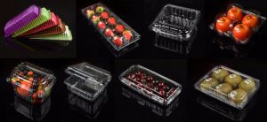Poultry Meat Fruit Vegtable Salad Packing Thermoforming Disposable Sealing Plastic Food Tray pictures & photos